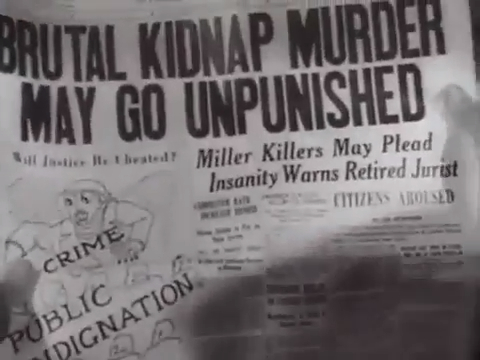 "Headline reading ""Brutal Kidnap Murder May Go Unpunished"" in All Caps"